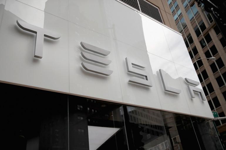 Une concession Tesla (Illustration)