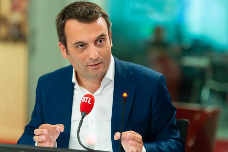 Florian Philippot, invité de RTL (ici dans nos studios le 6 août 2018)