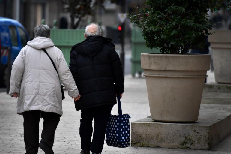 Un couple de retraités à Vincennes (illustration).
