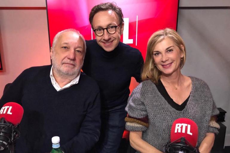 Michèle Laroque, François Berléand et Stéphane Bern
