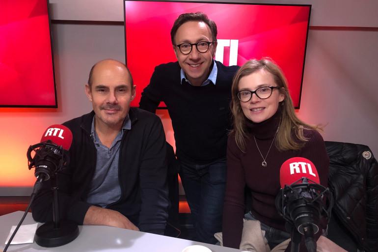 Isabelle Carré, Bernard Campan et Stéphane Bern