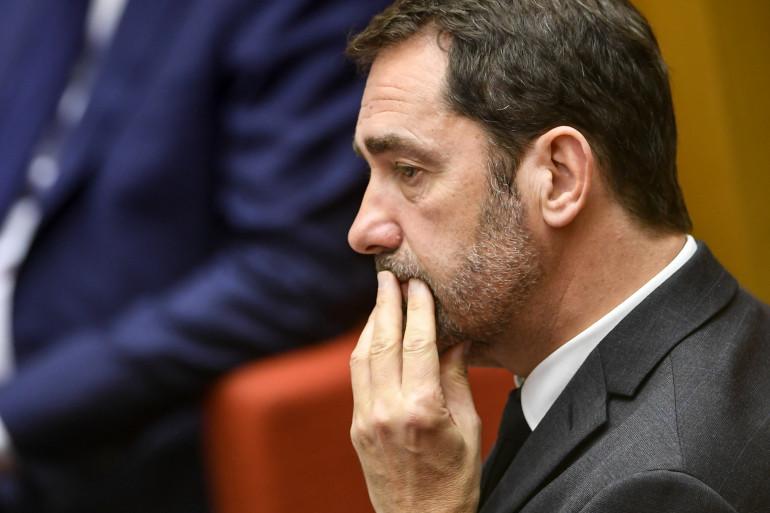 Christophe Castaner au Sénat, le 19 mars 2019.