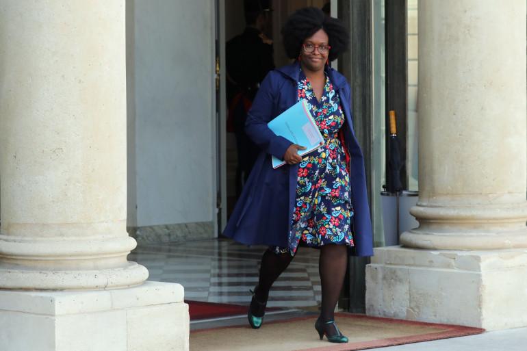 Sibeth Ndiaye, le 1er avril 2019
