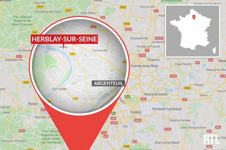 Herblay-sur-Seine dans le Val-d'Oise.