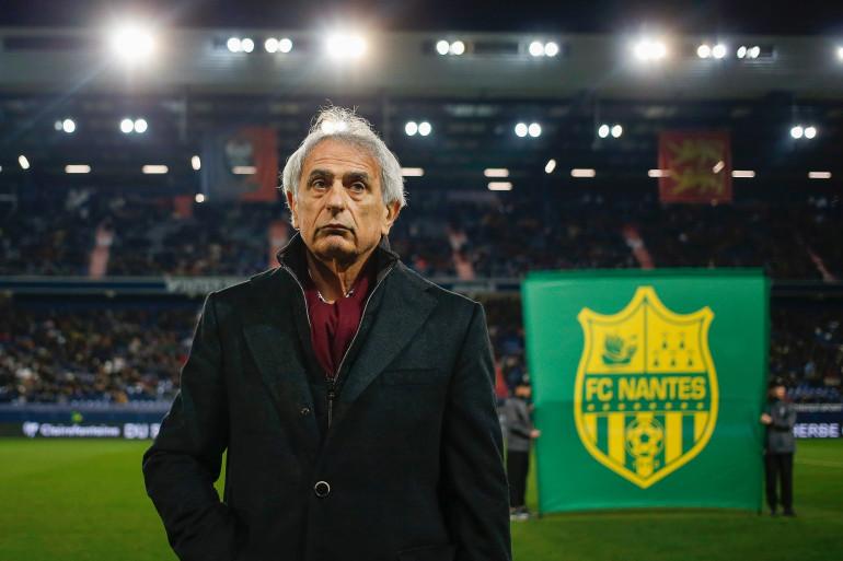 Vahid Halilhodzic à Nantes le 13 février 2019