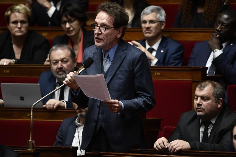 Gilles Le Gendre à l'Assemblée nationale, le 7 mars 2018