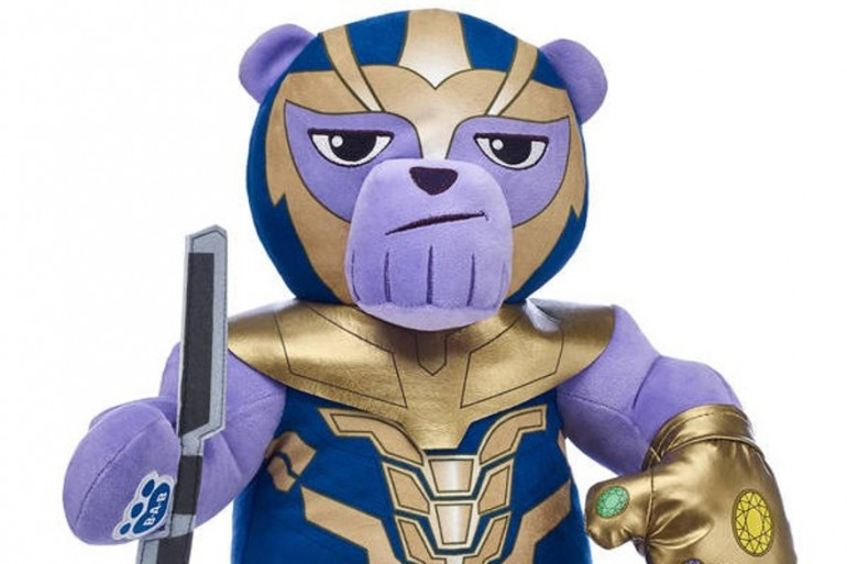 """La peluche de la discorde pour """"Avengers 4"""""""