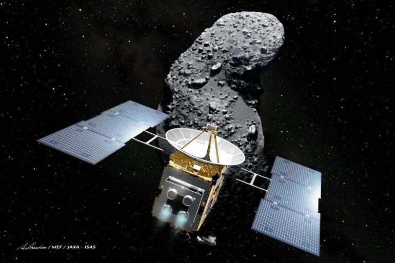 La mission Hayabusa doit nous éclairer sur l'origine du système solaire