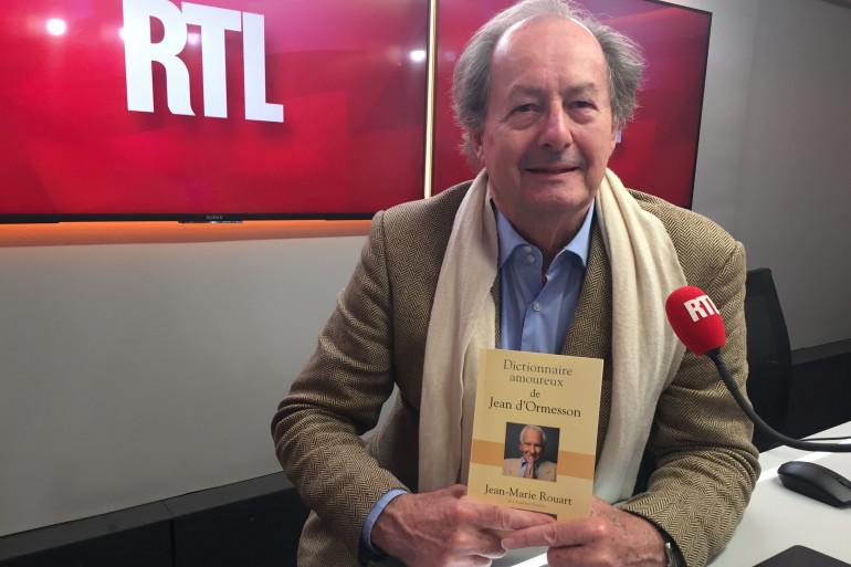 """Jean-Marie Rouart nous parle de son """"Dictionnaire amoureux de Jean d'Ormesson"""""""