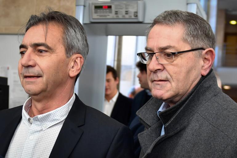 Bruno Odos et Pascal Fauret le 18 février à Aix-en-Provence