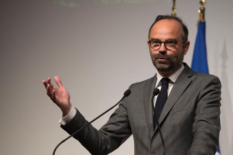 Edouard Philippe le 1er avril à Paris