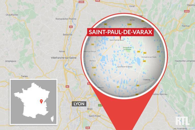 Le voleur a été retrouvé à Saint-Paul -de-Varax grâce au labrador.