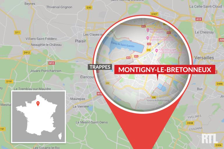 L'agression a été commise à la gare de Montigny-le-Bretonneux, dans les Yvelines