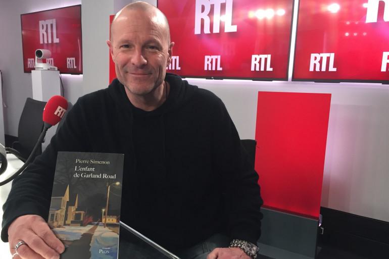 """Pierre Simenon pour son nouveau roman, """"L'enfant de Garland Road"""""""