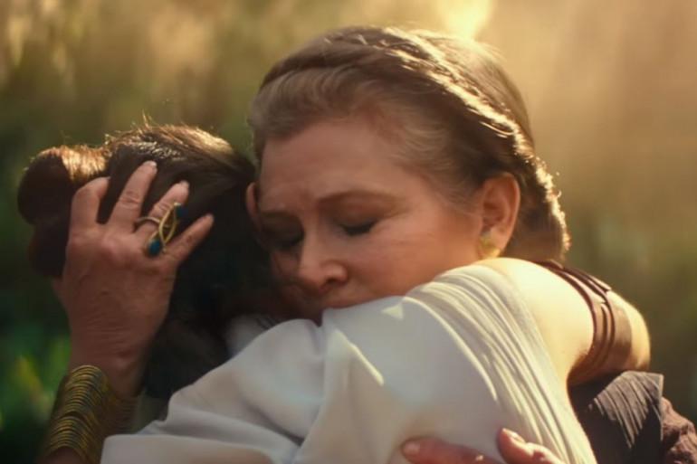 """Rey et Leia dans la bande-annonce de """"The Rise of Skywalker"""""""