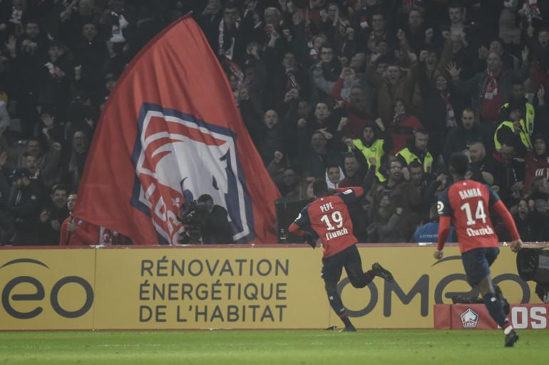 Nicolas Pepe lors de Lille-PSG, dimanche 14 avril
