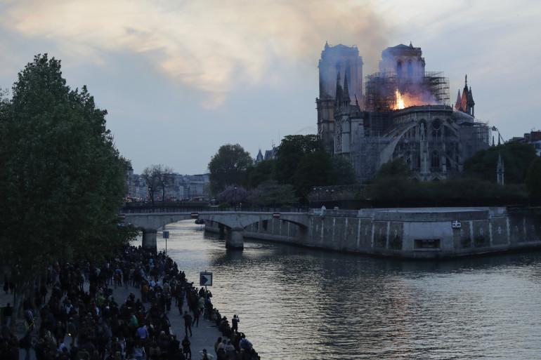 Notre-Dame de Paris en flamme, le 15 avril 2019