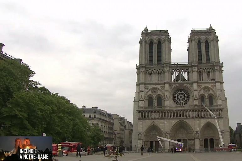 L'incendie de Notre-Dame