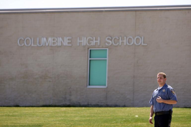 Le lycée de Columbine (Colorado) avait été le théâtre d'une fusillade en 1999.