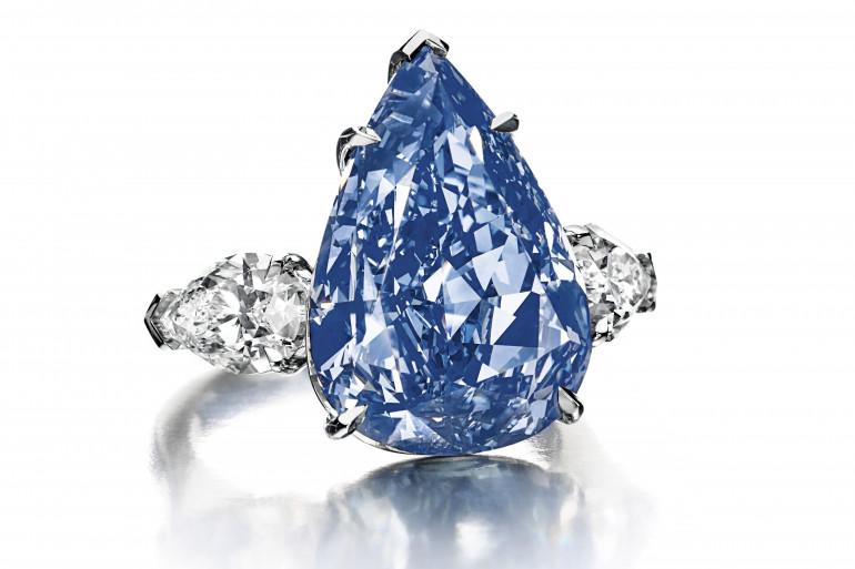 Un diamant bleu avait été vendu par Christie's en 2016 à Genève