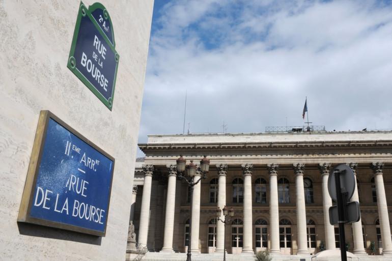 La bourse de Paris, le 8 août 2011 (illustration)