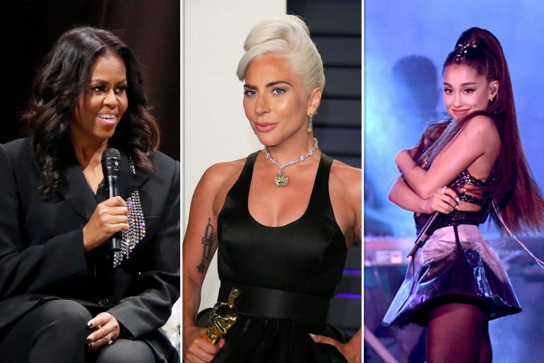 """Michelle Obama, Lady Gaga et Ariana Grande font partie des 100 personnalités les plus influentes selon le """"Time"""""""