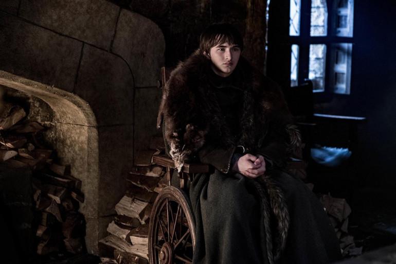 Bran Stark dans le château de Winterfell