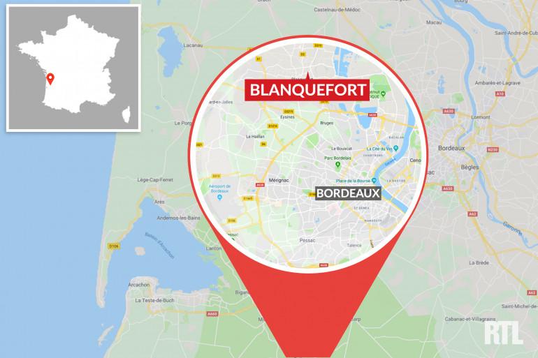 Blanquefort, dans la banlieue bordelaise (Gironde)