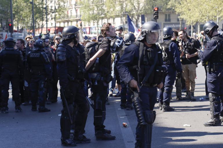 Le journaliste indépendant Gaspard Glanz a été interpellé samedi 21 avril pour outrage