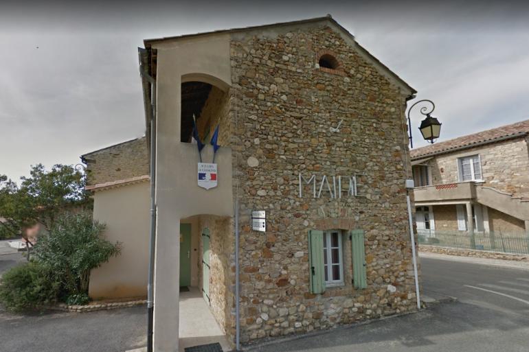 La mairie de Saint-Julien-de-Cassagnas, dans le Gard