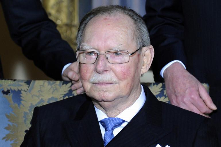 Le Grand-Duc Jean lors de son 90ème anniversaire le 5 janvier 2011
