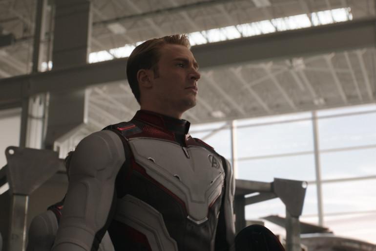 """Chris Evans aka Captain America dans """"Avengers : Endgame"""""""