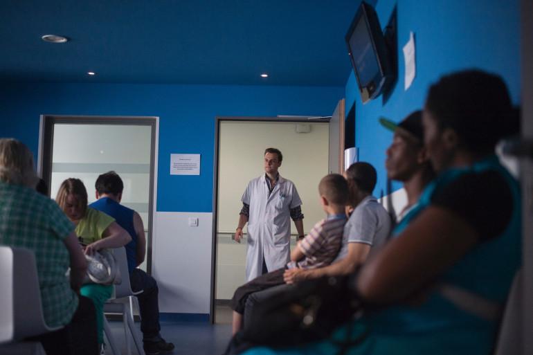 Une salle d'attente d'un hôpital (image d'illustration)