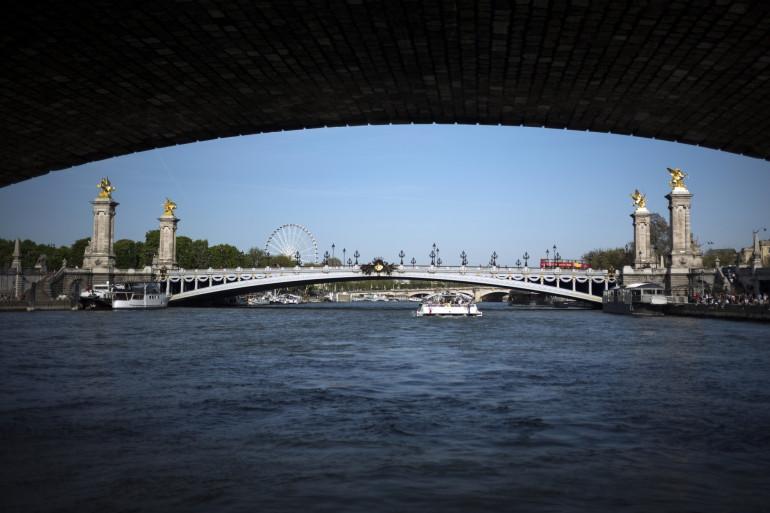 Vue de la Seine à Paris