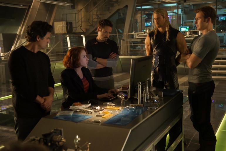 """Les Avengers dans """"Avengers 2 : L'Ère d'Ultron"""""""