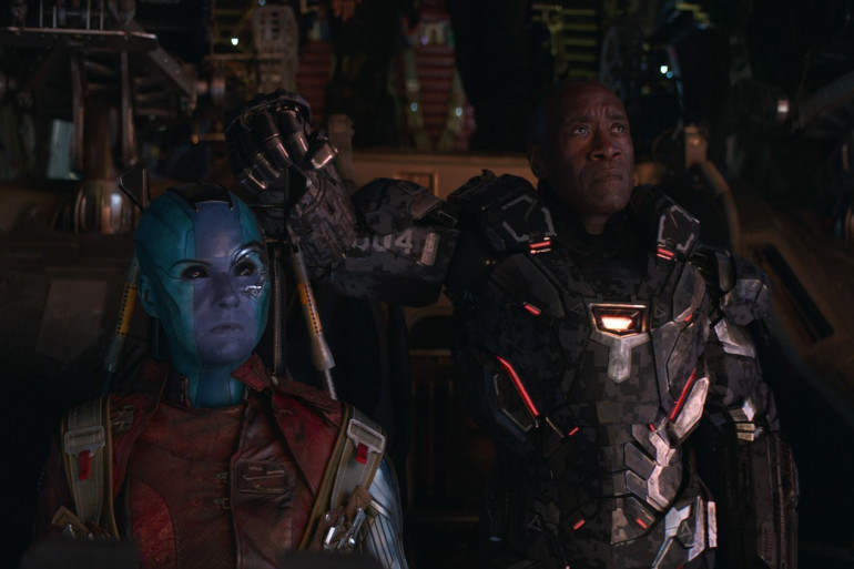 """Nébula et War Machine dans """"Avengers : Endgame"""""""