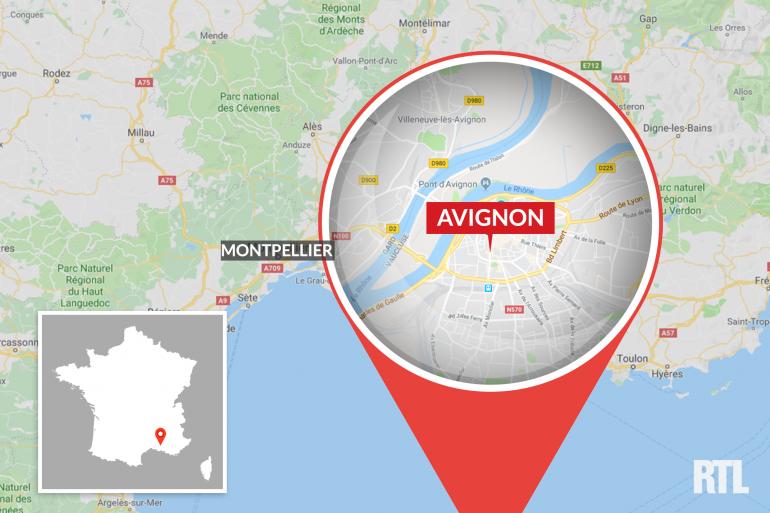 Avignon dans le Vaucluse.
