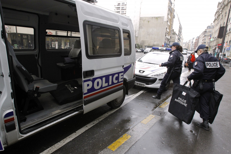 Une équipe Police Secours part en patrouille (illustration).
