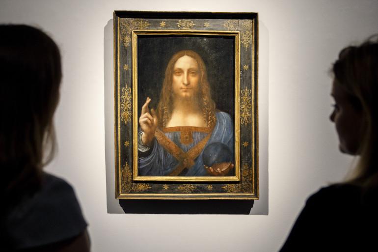 """Le """"Salvator Mundi"""" de Léonard de Vinci"""