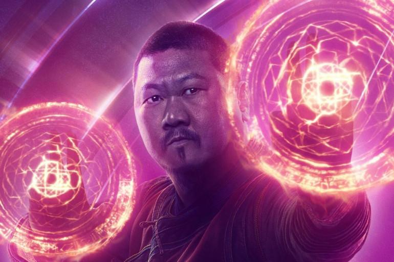 """Wong, l'ami de Doctor Strange dans l'affiche d'""""Avengers: Infinity War"""""""