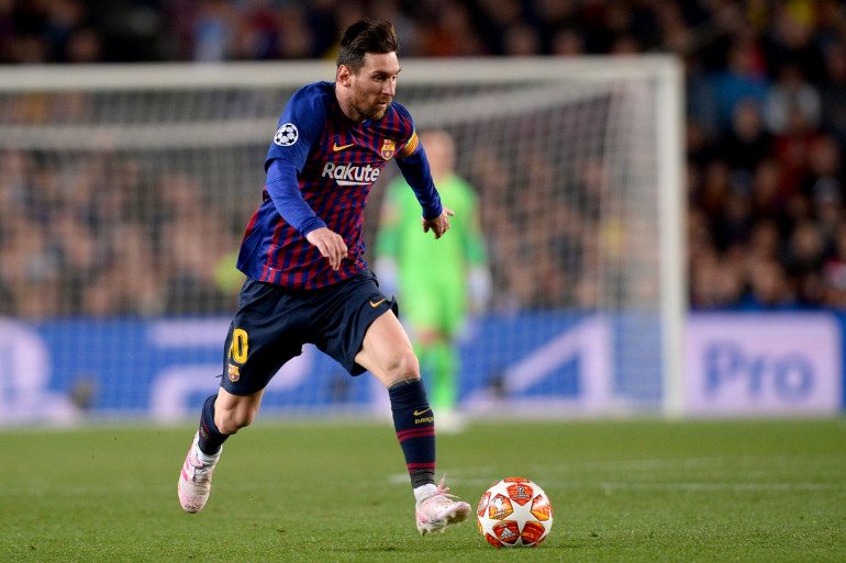 Lionel Messi avec le Barça au Camp Nou