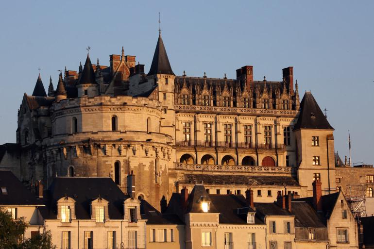 Le château d'Amboise, où des célébrations on lieu pour les 500 ans de la mort de Leonard de Vinci