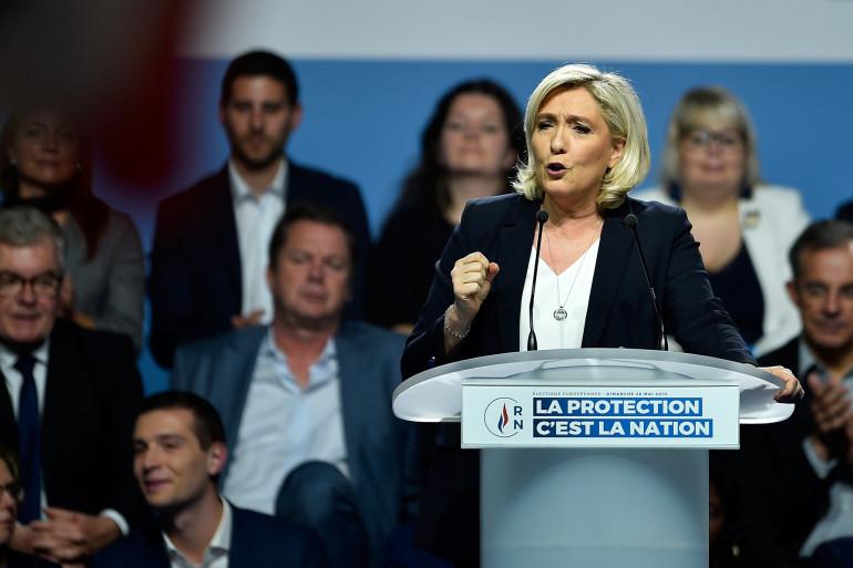 Marine Le Pen, le 1er mai 2019 à Metz