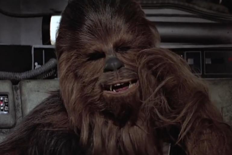 """Peter Mayhew a incarné Chewbacca dans cinq épisodes de la saga """"Star Wars"""""""