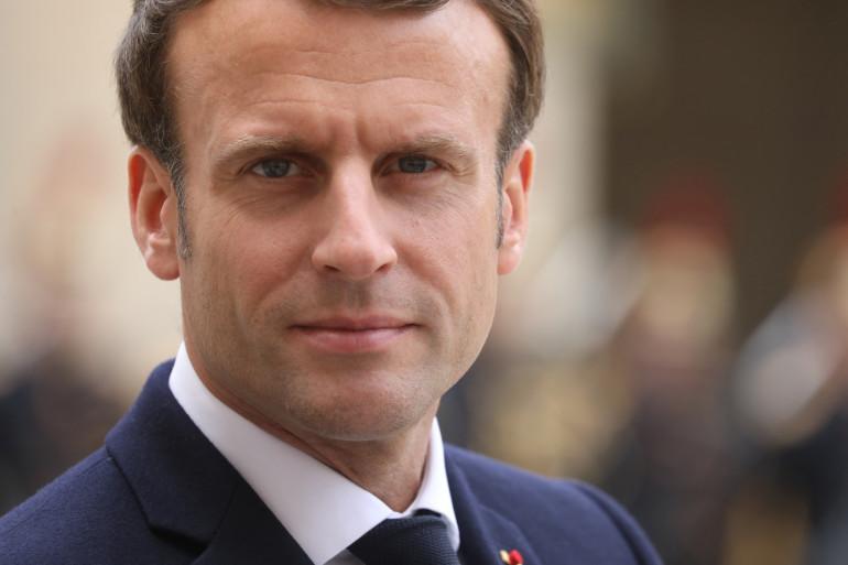 Emmanuel Macron, le 6 mai 2019