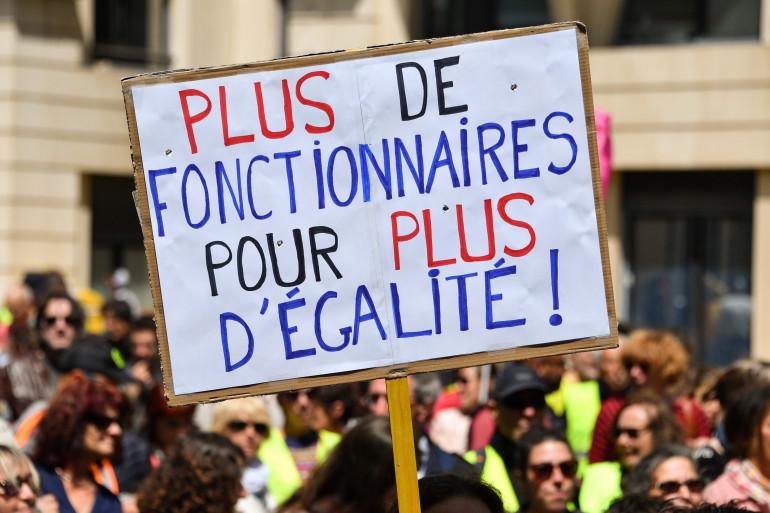 Entre 108.900 et 250.000 manifestants en France contre le projet de réforme de la fonction publique le 9 mai 2019