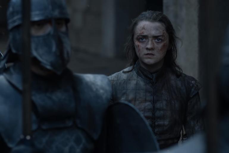 """Arya dans l'épisode 6 de la saison 8 de """"Game of Thrones"""""""