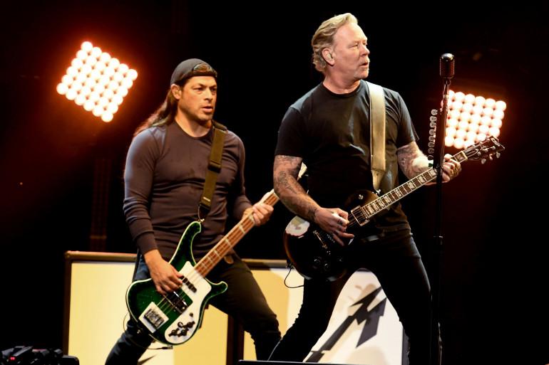 Le groupe Metallica en concert à Nashville, en janvier 2019 (illustration)