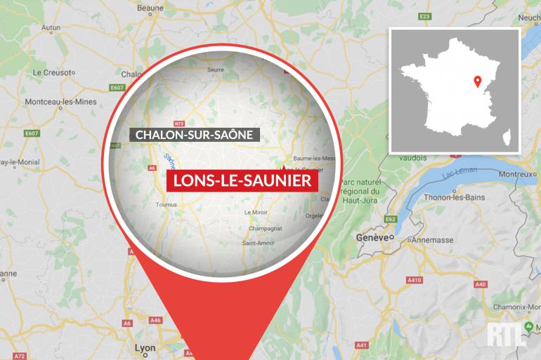 Lons-le-Saunier, dans le Jura