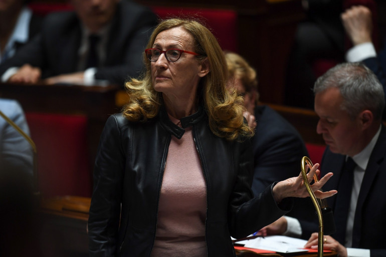 Nicole Belloubet, la garde des Sceaux à l'Assemblée nationale le 15 mai 2019